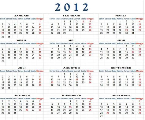 download kalender 2013 lengkap hijriah masehi jawa kalender 2012 download kalender 2012