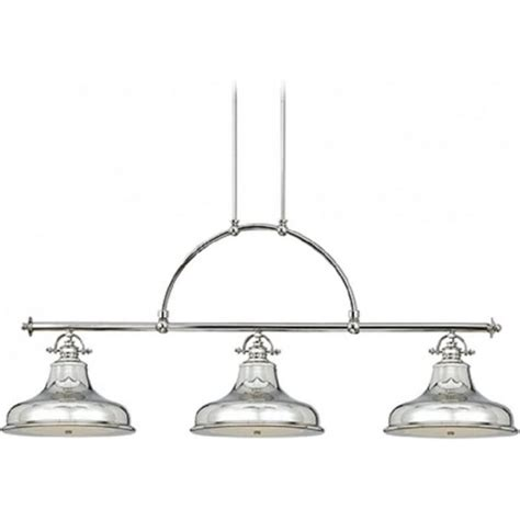 Kitchen Bar Pendant Lights Kitchen Island Retro Bar Suspension Pendant With 3 Silver
