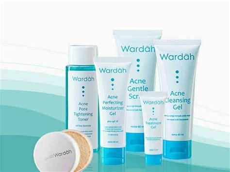 rangkaian skin care wardah acne series untuk kulit