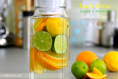 Orange Lemon And Lime Detox Water by Citrus Infused Water Cook N World Cuisines