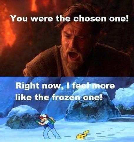 You Were The Chosen One Meme - image 727347 you were the chosen one know your meme