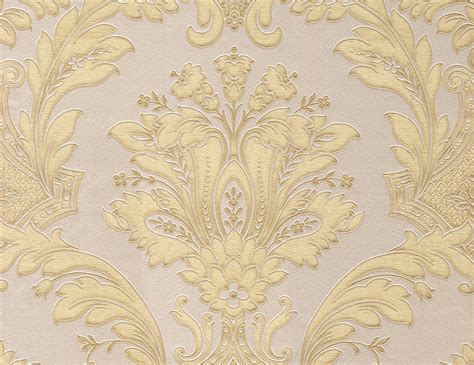 wallpaper large red damask on metallic gold background ebay gold and pink wallpaper wallpapersafari