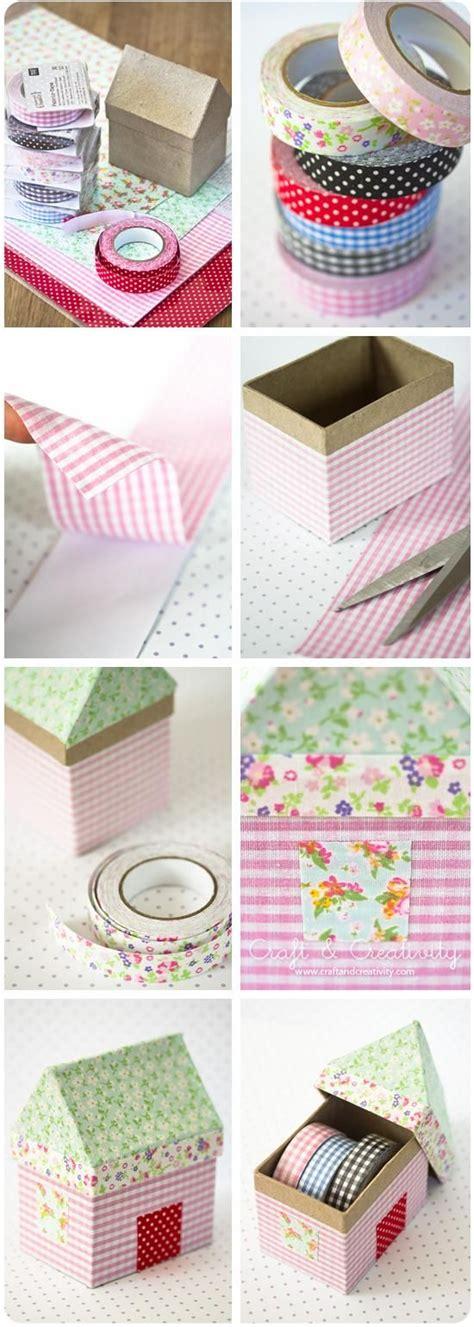 diy fabric crafts diy tutorial shoebox crafts diy fabric house boxes