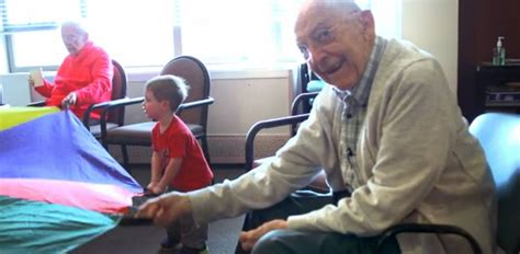 seattle preschool in a nursing home transforms elderly