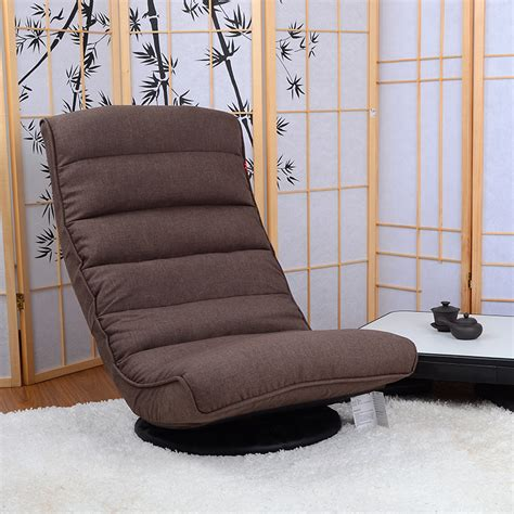 floor sofas floor recliner chair 360degree swivel folded japanese