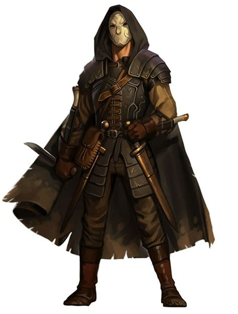 A Rogue pathfinder rogue the masked hooded capes sleeping alone and mascaras