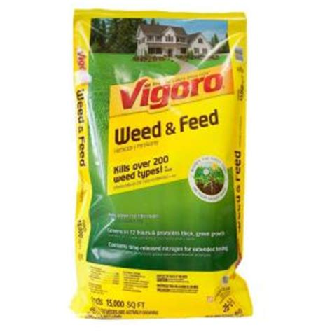 vigoro 42 lb 15 000 sq ft and feed lawn fertilizer