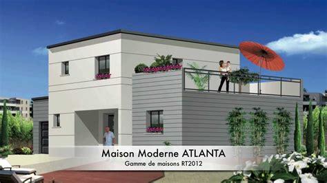 Modèle Maison Contemporaine by Cuisine Maison Moderne Mod 195 168 Le Atlanta Rt Modele Maison