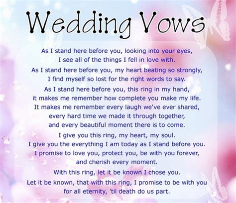 Writing Your Own Wedding Vows by A Complete Guide To Writing Your Own Vows Everafterguide