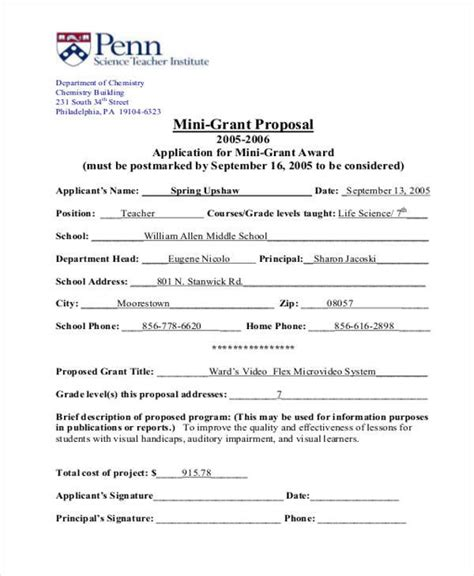 format proposal mini 39 free proposal templates