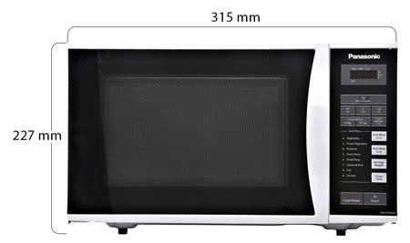 Microwave Oven Panasonic Nn St342m panasonic nn st342m 25 liter microwave oven silver price review and buy in dubai abu dhabi