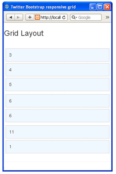layout bootstrap mobile bootstrap responsive grid for desktop and mobile techzoo