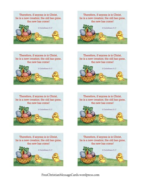 printable children s easter cards free easter card free christian message cards