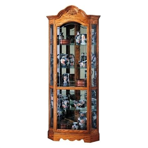 corner kitchen curio cabinet howard miller wilshire corner display curio cabinet 680207