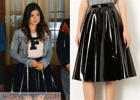 shiny leather skirt redskirtz