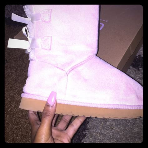 light pink uggs with bows light pink bow uggs