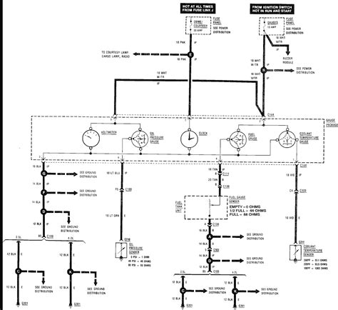 jeep yj tachometer wiring diagram wiring diagram