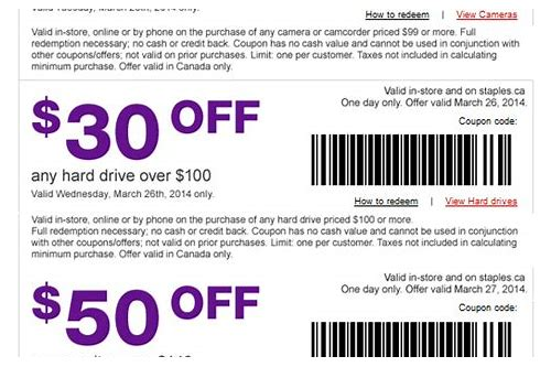 printable store coupons canada