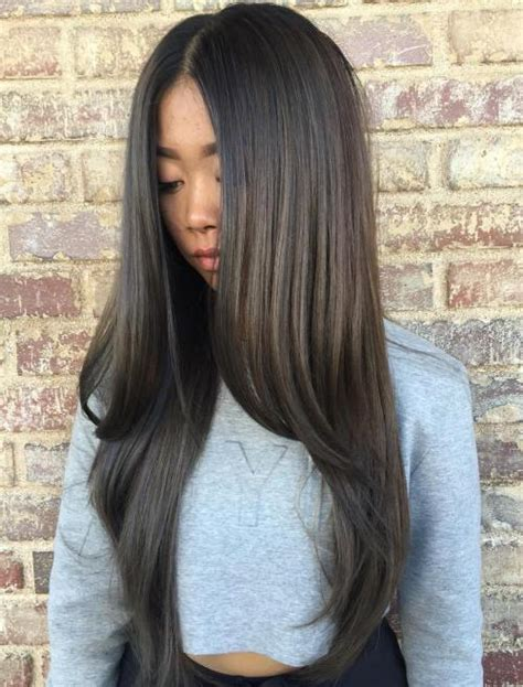 hairstyles for long straight hair with highlights 30 best hairstyles for long straight hair 2018