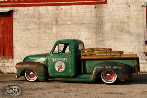 Topi Trucker Chevrolet Banaboo Shopping 1952 chevy 3100 rod rat truck patina shop no air ride bagged c10 f100