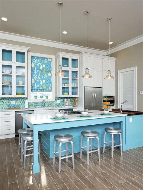 coastal kitchen afreakatheart - Coastal Kitchen Design Photos