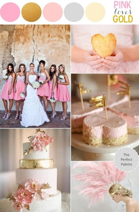Wedding Theme Idea Pink And Gold Our One 5 pink and gold wedding theme sparkly pink wedding ideas