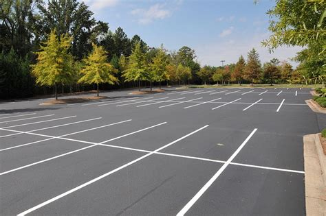 picure of women with a lot if pubic hair parking lot striping greenville spartanburg pavement