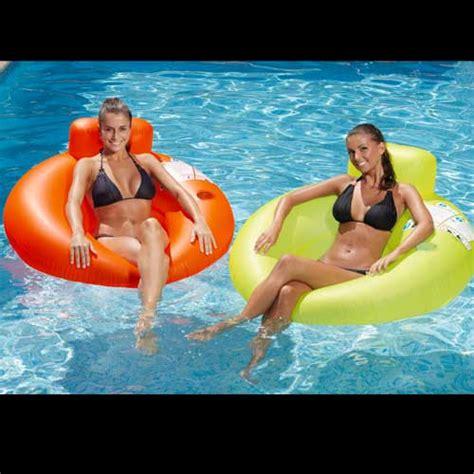 fauteuil gonflable pour piscine si 232 ge hamac fauteuil gonflable pour piscine assortiment de 2 couleurs