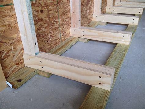 Lumber Racks For by Rob S Lumber Rack The Wood Whisperer