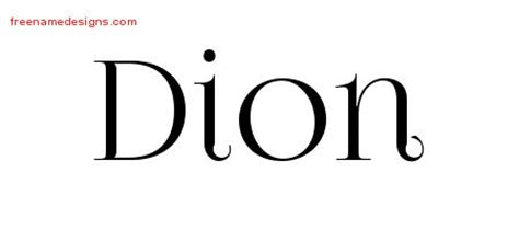dion design dion archives free name designs
