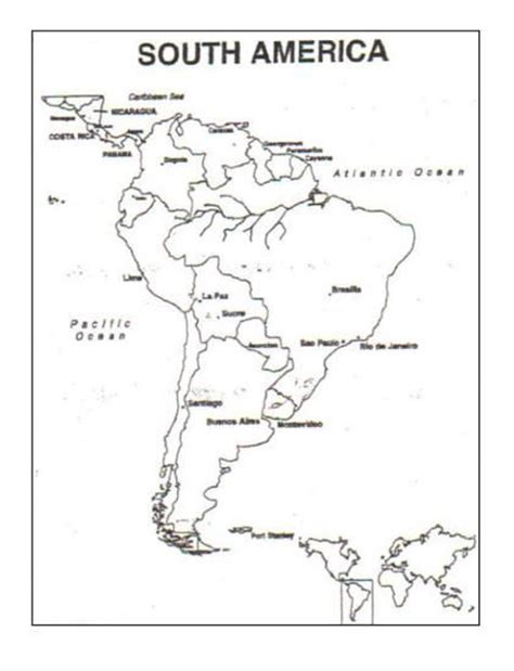 South And America Map Outline by Maps Chs 10 12 South America Blank Map Jpg 421 215 550 7th Waldorf Mayans Incas Aztec