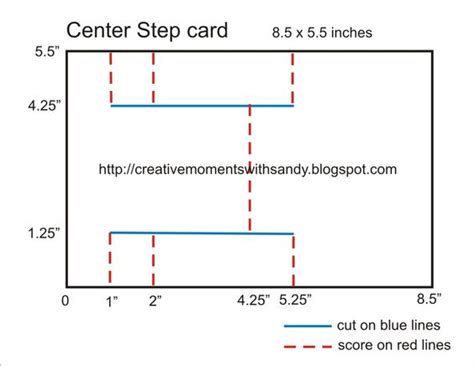 4 Step Card Template by Center Step Card Template Bjl Templates
