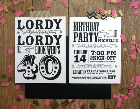 40th birthday invitation designs 40th birthday invitations theruntime