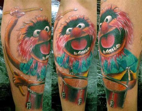 tattoo animal muppets animal muppets tattoo tattoos pinterest animals