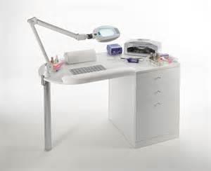 Off White Desk Chair Maletti Star Nail Premium Manicure Table