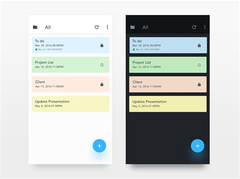 quantum design application notes note app day night uplabs