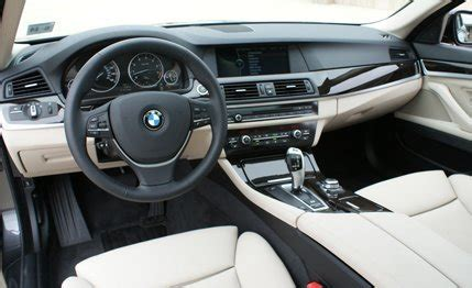 bmw 5 series review: 2011 bmw 528i test – car and driver