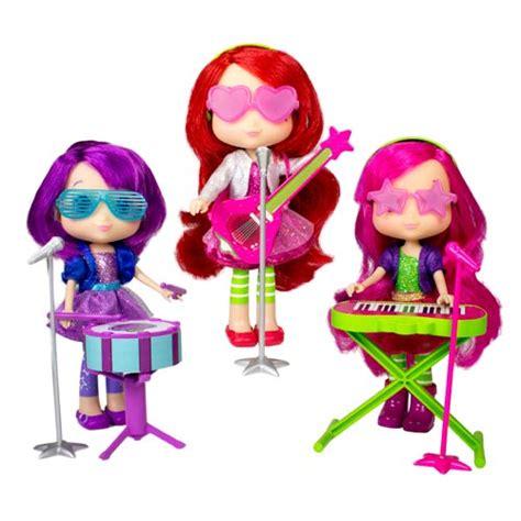 strawberry shortcake fashion doll 6 inch strawberry shortcake 6 inch sweet beat dolls wave 1 set