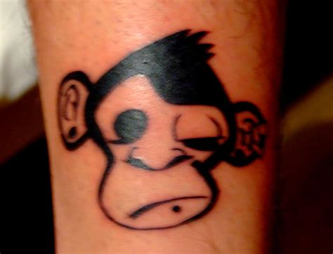monkey butthole tattoo pin monkeys tattoos designs pictures tribal