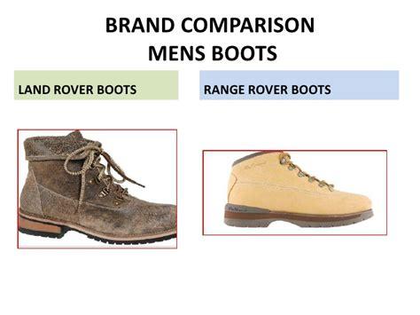 land rover footwear brand plan