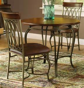 hillsdale montello 3 piece dining room set efurniture mart