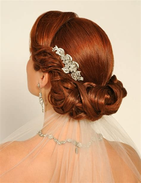 Hochzeitsfrisur Rote Haare by Schicke Brautfrisuren Finden Sie Ihren Pers 246 Nlichen
