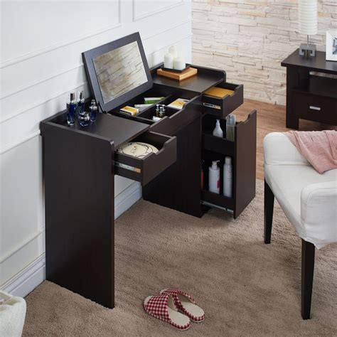 flip top computer desk 1000 ideas about built in vanity on pinterest bathroom