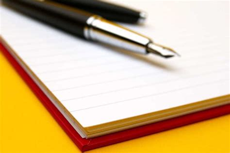 paper for pen writing through the of a paper pen
