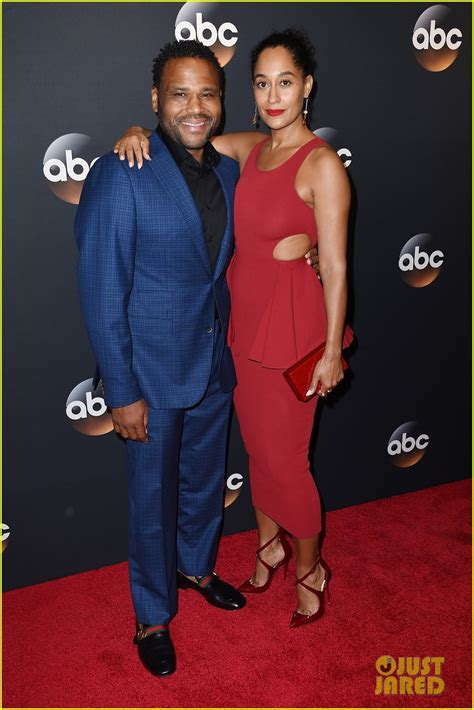 tracee ellis ross agent tracee ellis ross anthony anderson couple up at abc