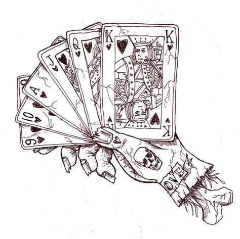 deck of cards tattoo designs cards and piercing ideas