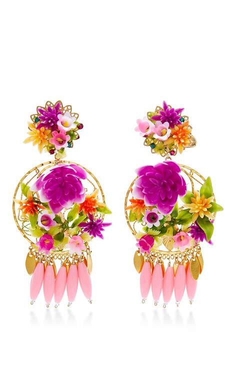 Kalung Pompom Tassel Flower Necklace Pink 12 best aretes images on earrings necklaces and tassels