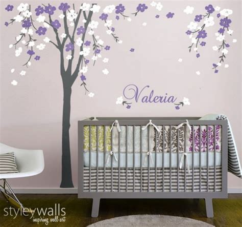 Cherry Blossom Tree Wall Decal For Nursery Cherry Blossom Tree Wall Decal Nursery Wall Decal Baby