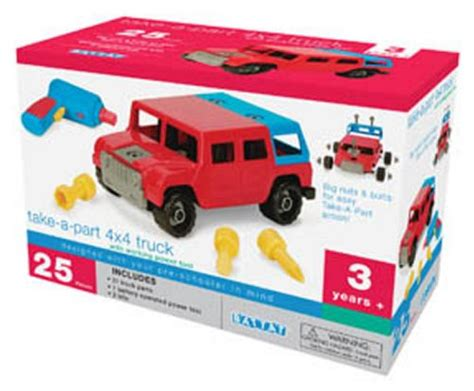 to take apart toys for 2 year old boys battat take a part vehicle 4x4 old model