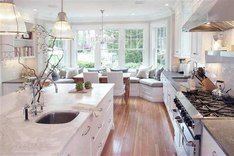 kitchen bay fenster sitzecke in der k 252 che 22 gem 252 tliche einrichtungsideen